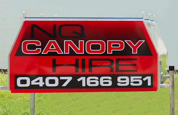 NQ Canopy Hire - Basic, Fitted Out & Pigibak Ute Canopy HIre